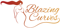 Blazing Curves Fashion Logo